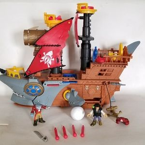 Imaginext Pirate Ship Toy